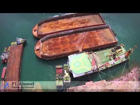Drone - Profile PT. AluSteel Shippyard