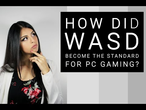 How did WASD become the standard for PC Gaming?