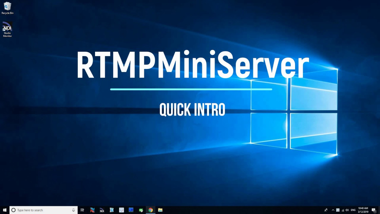 Ffmpeg Output To Rtmp