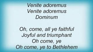 Bing Crosby - Oh Come All Ye Faithful (Adeste Fideles) Lyrics