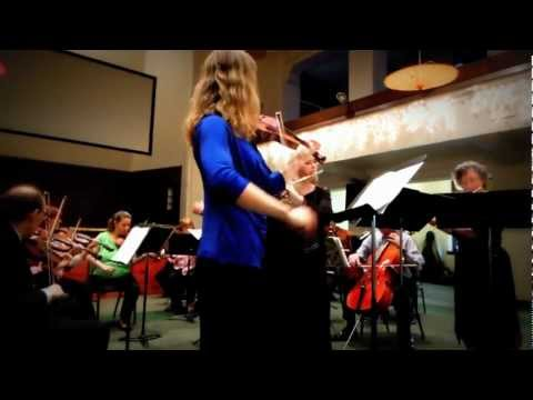 J.S. Bach - Brandenburg 4 movement 1
