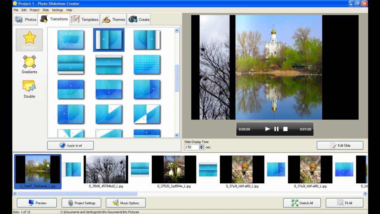 Free slideshow software with music download