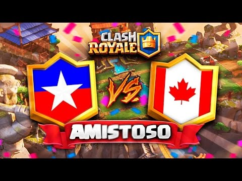 "CHILE vs CANADA ""LA ROJA RUMBO AL MUNDIAL"" // Clash Royale Amistoso en DIRECTO 🔴"