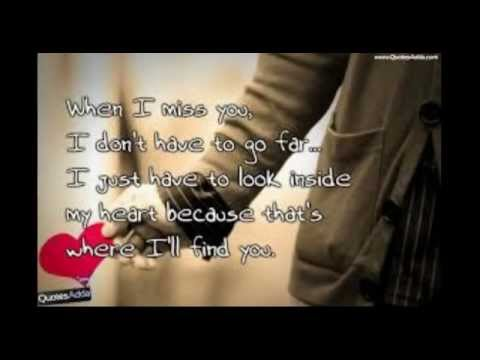 I Wanna Grow Old With Youi Miss You Quotes Youtube
