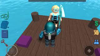 Finding the red orb | ROBLOX DIVING AT QUILL LAKE