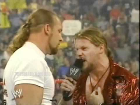 Y2J Chris Jericho RAW Segement 8.5.2002 with Triple H and Rob Van Dam