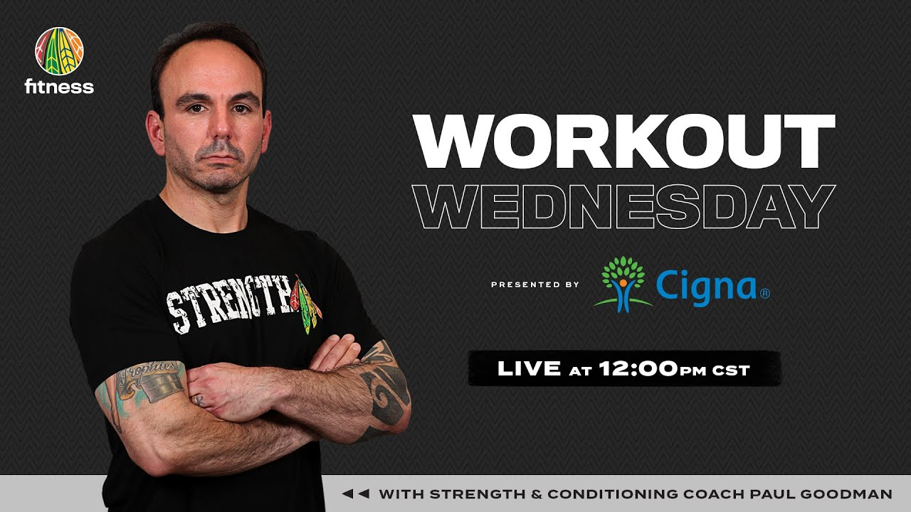 Week 10: Workout Wednesday with Coach Paul Goodman Presented by Cigna
