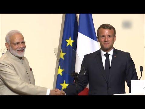 Modi's Paris diplomacy: Macron fully backs India's stand on Kashmir issue