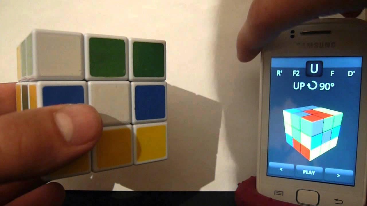 Скачать секундомер для сборки кубика рубика