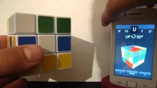 Как собрать кубик рубика при помощи android ?