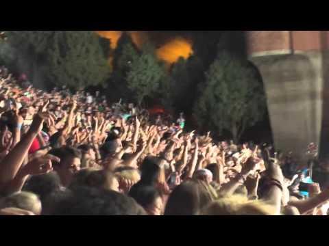 Knife Party - PLUR Police (JAUZ Remix) // Live at Red Rocks