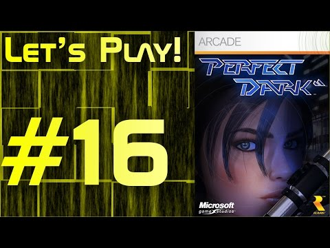 Let's Play Perfect Dark #16: The Best Hostage Saver in the World!