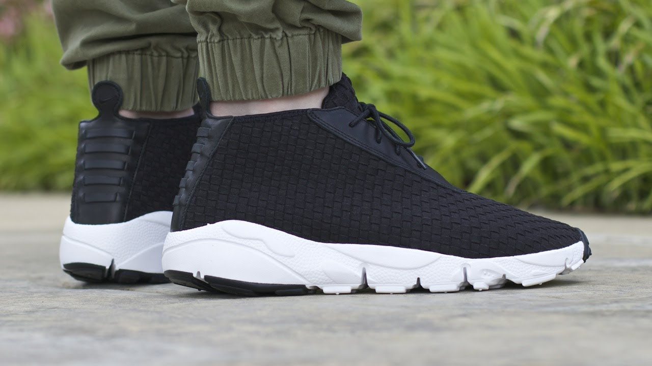 size 40 8df94 5a673 Nike Air Footscape Desert Chukka QS - Black - YouTube