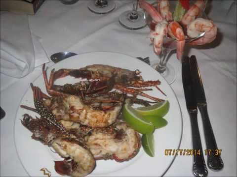 Restaurant Food in Punta Cana, Dominican Republic
