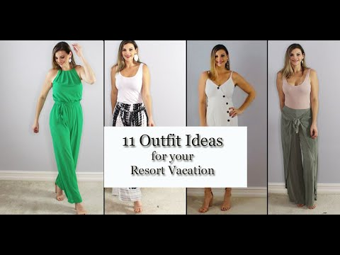 Resort & Cruise Outfit Ideas 2019: What To Wear On A Cruise  II  What To Wear On A Resort Vacation