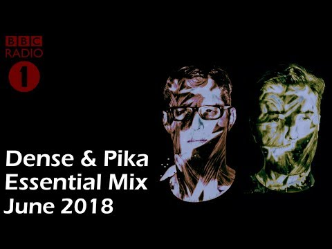 Dense & Pika - Essential Mix | BBC Radio 1 (23 June 2018) TECHNO