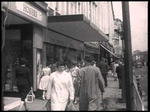 A Day in the Life of Cardiff - 1959