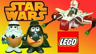Star Wars LEGO Microfighters ARC-170 Starfighter & Clone Pilot + Darth Vader Potato Head
