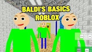 BALDI'S BASICS ROBLOX BALDI ROLEPLAY