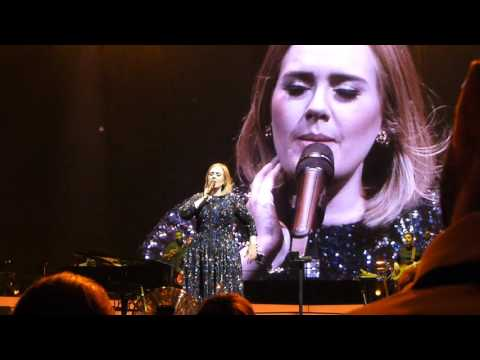 Adele Chicago United Center 7-13-2016 HD HQ Audio -Make You Feel My Love/Sweetest Devotion/Chas