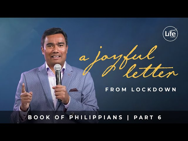 Joy in Sacrificial Service | Philippians Part 6 | Rev Paul Jeyachandran