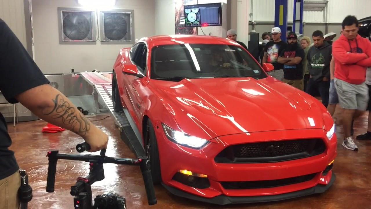 Armageddon Twin Turbo Mustang GT Dyno