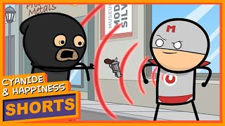 Mr. Magnet - Cyanide & Happiness Shorts