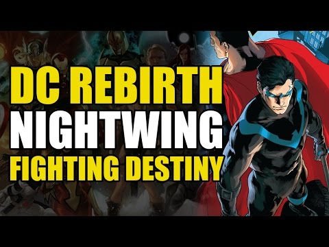 Pre New-52 Superman Meets Nightwing (Nightwing Rebirth One Shot: Fighting Destiny)