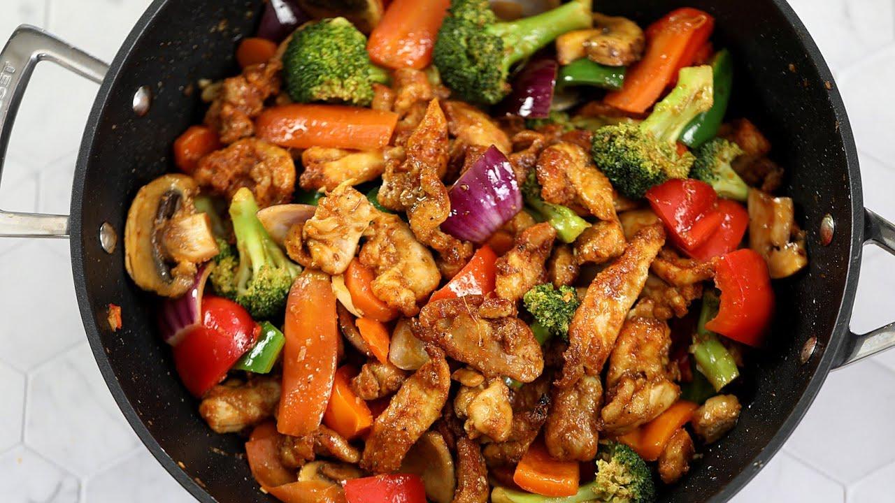 Download Perfect Chicken Stir Fry : Chicken Vegetable Stir Fry