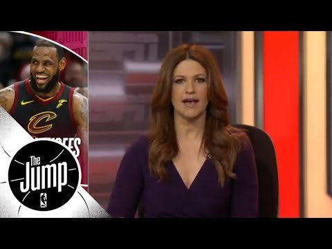 Rachel Nichols: Someone finally stopped LeBron James  The Jump  ESPN