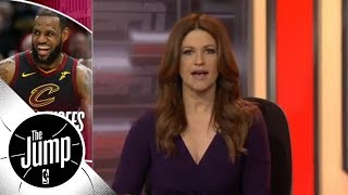 Rachel Nichols: Someone finally stopped LeBron James | The Jump | ESPN