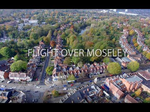Drone Flight Over Moseley, Birmingham