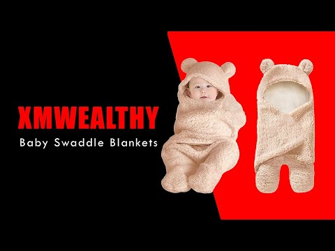 XMWEALTHY Baby Swaddle Blankets
