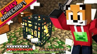 Minecraft | SKELETON SPAWNER XP FARM | Foxy's Bedrock Survival [29]