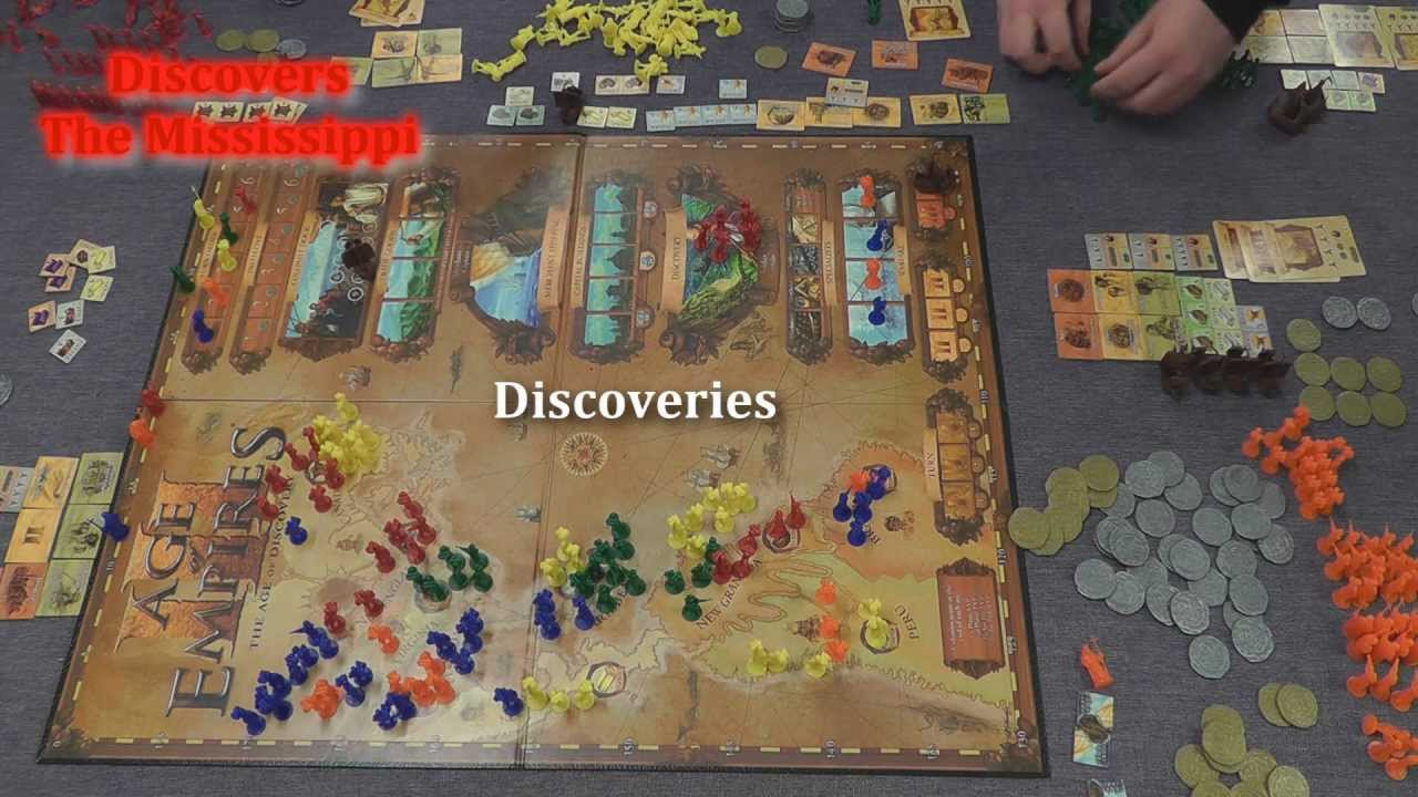 Age Of Empires Iii Is Reborn As Empires Age Of Discovery: BoardGameCast 06 Glenn Drover's Empires: The Age Of