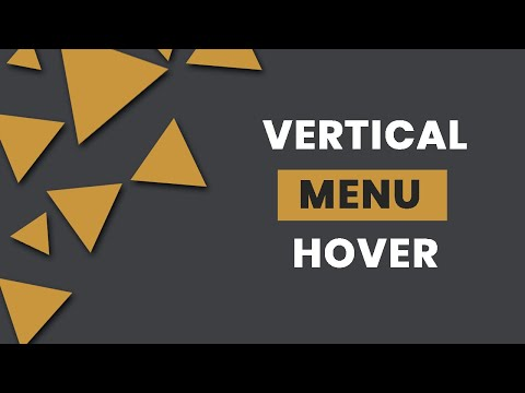 Awesome CSS Vertical Menu Hover Effects