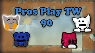 Teeworlds - Pros play TW 90: Shawn has the brain xD