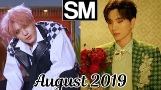 [TOP 100] Most Viewed SM Kpop MVs [August 2019]