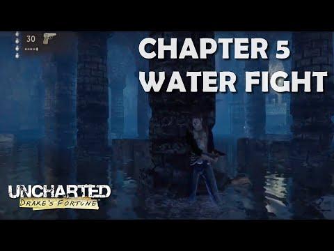 Uncharted 1 Chapitre 5 Glitch Pour Passer Le Gunfight Fr Youtube