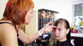 видео салон красоты стрижка