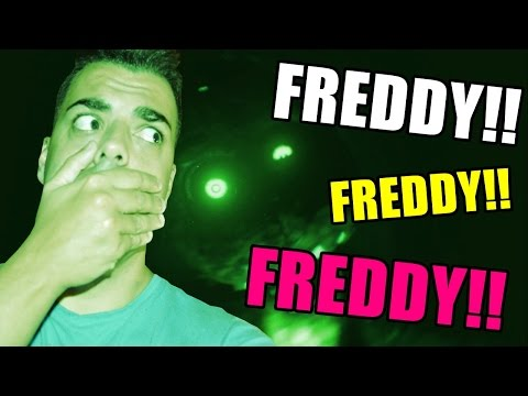 JUGANDO AL JUEGO DE LAS ESCONDIDAS CON FREDDY | The Joy of Creation: Reborn - TJOCR: fnaf fan game