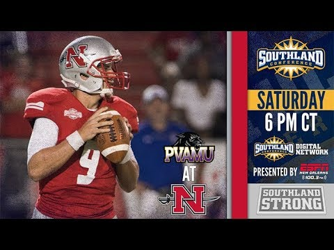 Football: Prairie View A&M at Nicholls (KLRZ Production Replay)