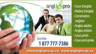 Centre AngloPro / AngloBranché - Cours d'anglais en ligne