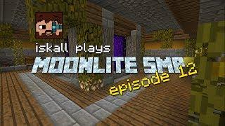 Moonlite SMP Iskall - EP12 - Personal Nether Hub