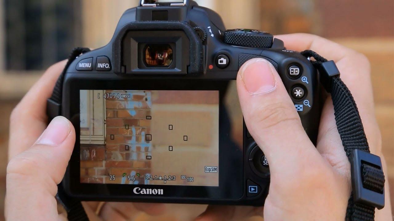 Canon EOS 100D - Mini-DSLR-Kamera im Test [GER] - YouTube
