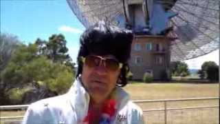 Elvis Presley is Alive - Interview at The Dish, Parkes, Australia