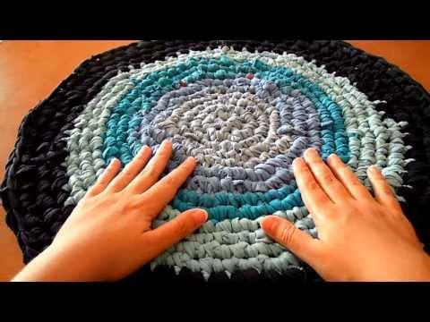 Alfombra pompom doovi for Como hacer alfombras a mano