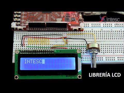 LIBRERÍA LCD - VHDL