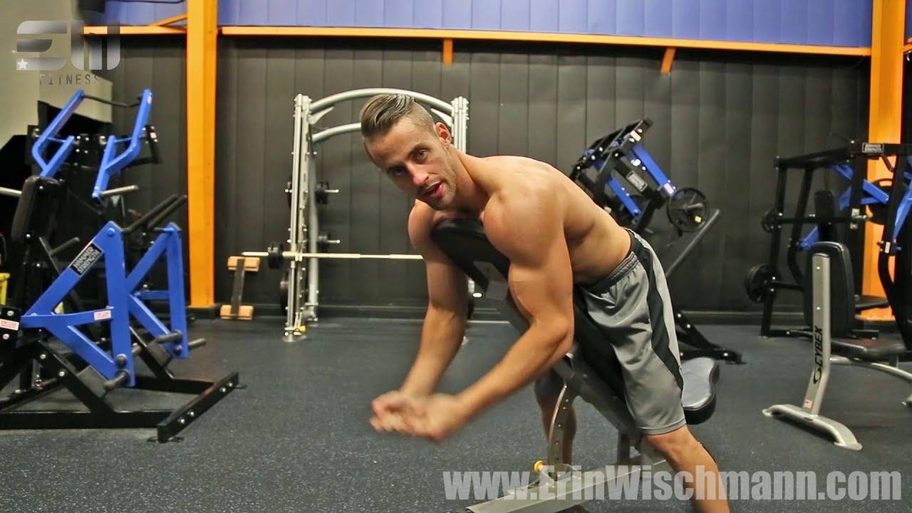 Spider Curls Incline Bench Part - 47: Spider Curls: How To Gym Tutorial Video #9