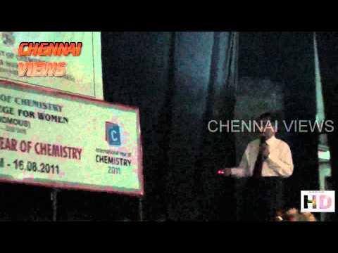 Ethiraj College International year of Chemistry 2011